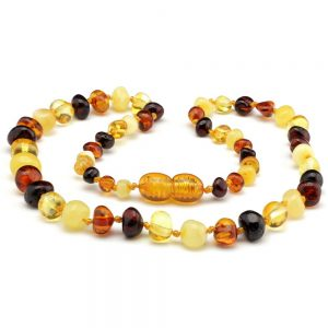 amber teething necklac baltic amber multi dark
