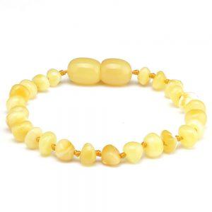 Amber bracelet butterscotch 14cmAmber bracelet butterscotch 14cm