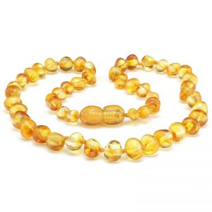 Amber necklace Baby NECKLACE Honey | 32cm