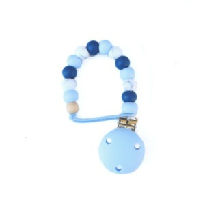 Dummy Clip Silicone Dummy Clip - Baby Blue Sapphire