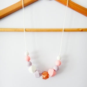 Silicone Necklace silicone jewellery Chloe necklace teething
