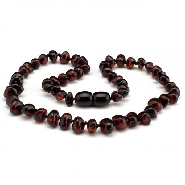 Amber Baby NECKLACE Cherry | 32cm