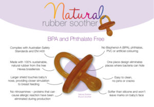 Natural Rubber Soother Orthodontic - Twin